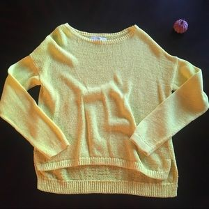 LOFT Yellow Sweater - Large